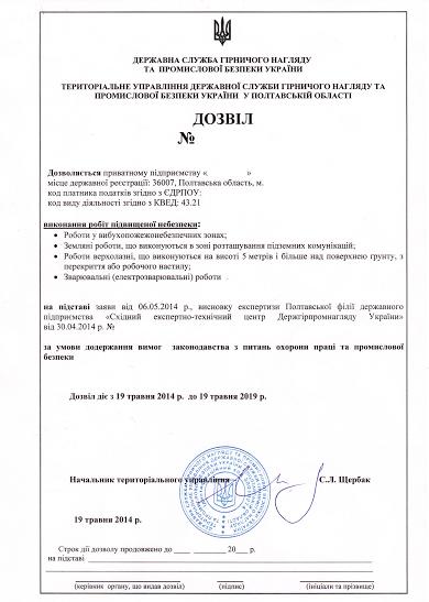 бланк лицензии на пользование участками недр